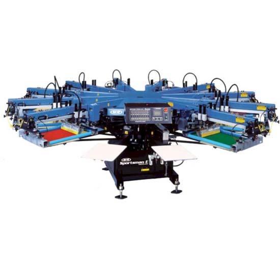 מכונת דפוס משי