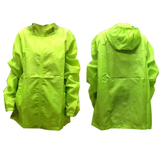 מעיל גשם צהוב