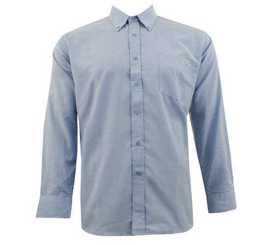 חולצת אוקספורד ארוך גברים